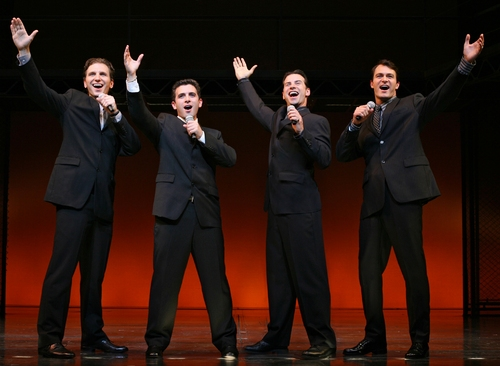 Photo Flash: Spector and Nolfi Join Broadway's 'Jersey Boys'
