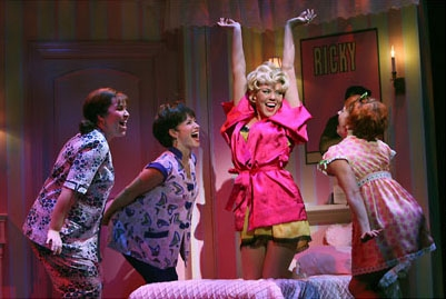 Photo Flash: New Production Shots of Ace Young and Company in 'Grease'