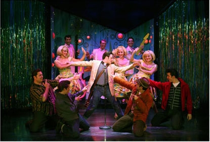 "Ryan Patrick Binder and the company perform ""Magic Changes"""