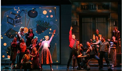 Photos: New Production Shots of Ace Young and Company in 'Grease'