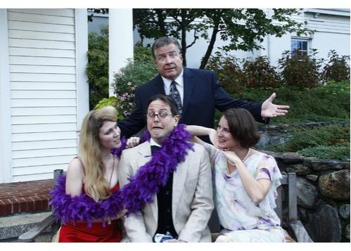 Jennifer Edwards (as Diana), Jeff Schlotman (as Saunders), Elizabeth Morris (as Maggie) and Dana Laite (as Max)