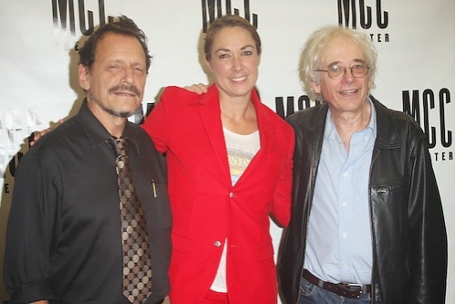 Michael Weller, Elizabeth Marvel, and Austin Pendleton