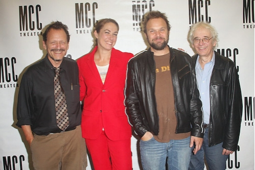 Michael Weller, Elizabeth Marvel, Norbert Leo Butz, and Austin Pendleton