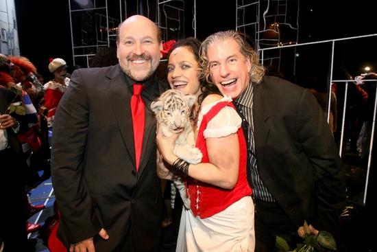 Frank Wildhorn, Lucie Bila and Gabriel Barre