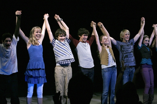 Photo Coverage: '13' Opening Night Curtain Call