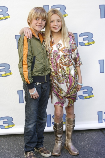 Spencer List and Peyton List