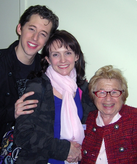 Photo Flash: Dr. Ruth Visits 'Enter Laughing'