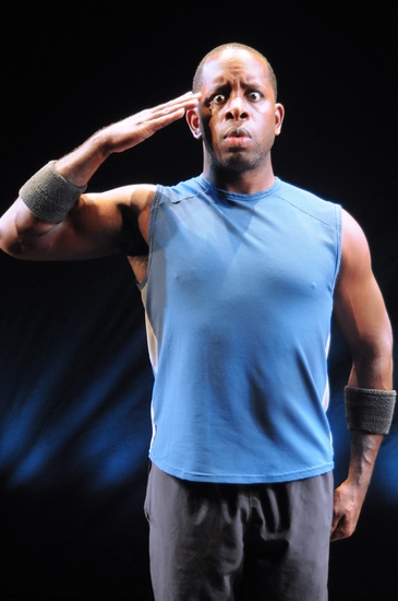 Photo Flash: Kahlil Ashanti in 'Basic Training'