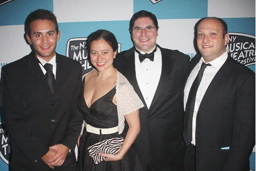 David Hauslaib, Marissa Kamin, Ryan Miller and Isaac Robert Hurwitz