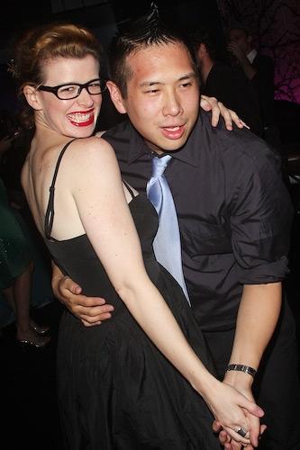 Anika Chapin and Eric Louie