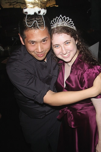 Eric Louie and Lynn Spector - NYMF Prom King and Queen