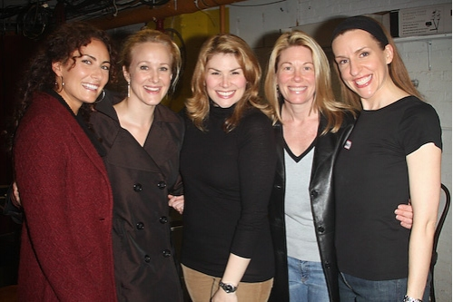 Photo Coverage: Benanti and More visit [title of show]