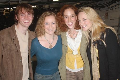Drew Aber, Jennifer Evans, Alison Cimmet, and Brandi Burkhardt