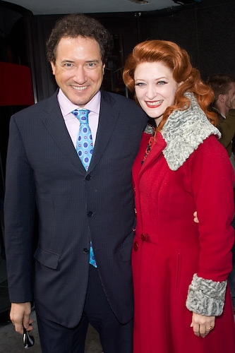 Photo Coverage: 'Irving Berlin's White Christmas' Celebrates Box Office Opening