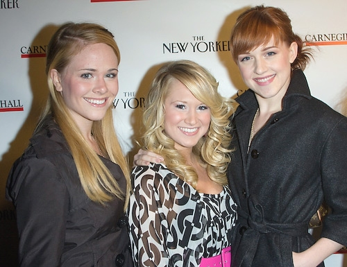 Lindsay Ridgeway, Bailey Hanks, and Celina Carvajal