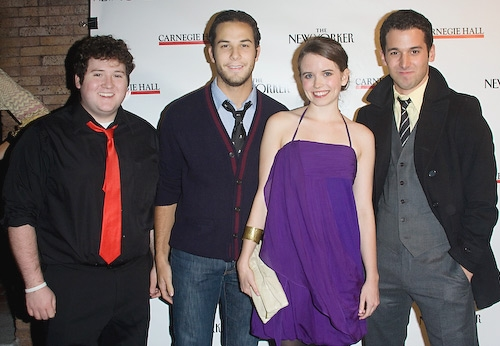 Brian Charles Johnson, Skylar Astin, Phoebe Strole, and Lannon Killea