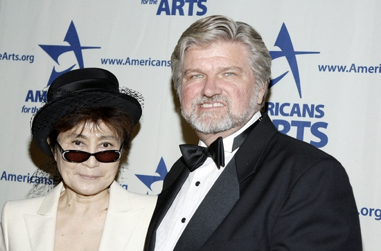 Yoko Ono and Robert L. Lynch