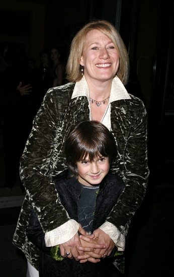 Jayne Atkinson And Her Son Jeremy