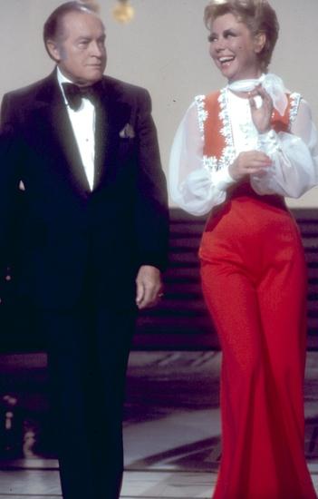 Mitzi Gaynor and Bob Hope