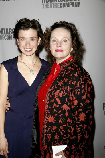 Hannah Cabell and Maryann Plunkett   at 'A Man for All Seasons' After Party