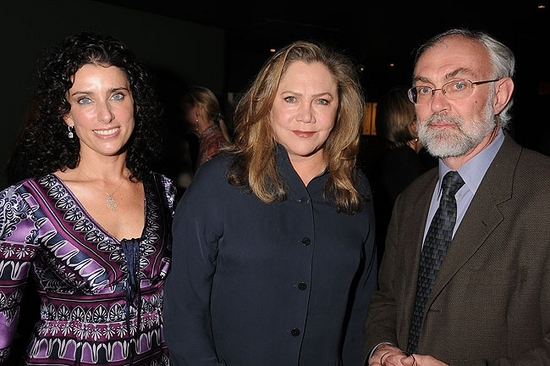 Sandra Coudert, Kathleen Turner and David Van Asselt