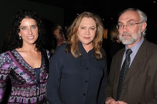 Sandra Coudert, Kathleen Turner and David Van Asselt