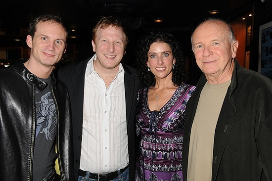 Jeff Bowen, Hunter Bell, Sandra Coudert and Terrence McNally
