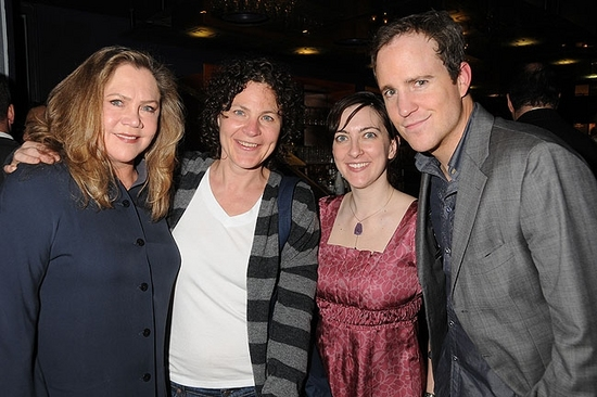 Kathleen Turner, Lucy Thurber, Julie Klein and Patch Darragh Photo