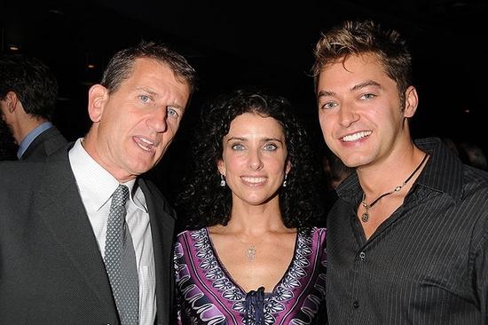 Tom Kirdahy, Sandra Coudert and James Brandon