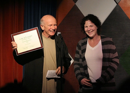 Terrence McNally and Lucy Thurber Photo