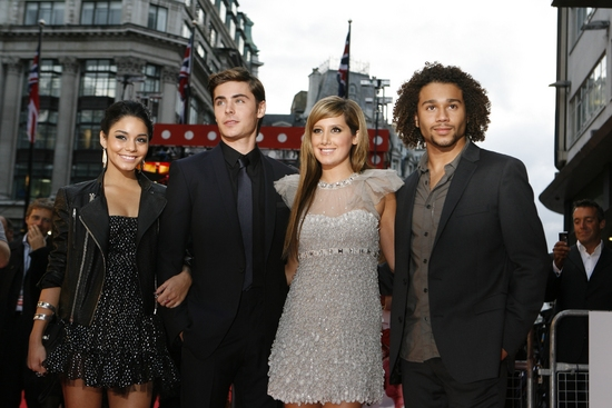 Vanessa Hudgens, Zac Efron, Ashley Tisdale and Corbin Bleu