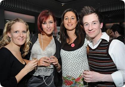 Pippa Lloyd, Rachel Muldoon, Nia Janis, Jeremy Legat