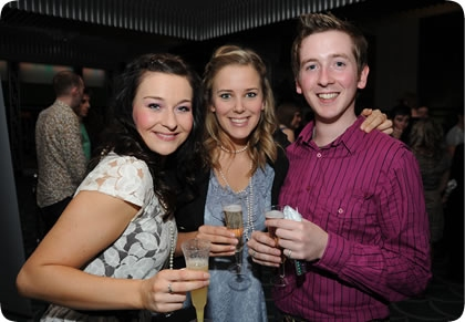 Chloe Taylor, Emily Tierney, Luke Shires