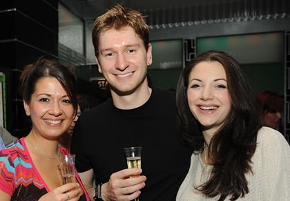 Ashleigh Gray, Jake Samuels, Caroline Keiff