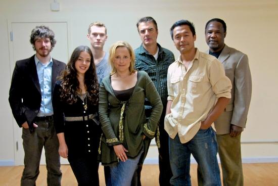John Gallagher, Jr., Dan Bittner, Kate Blumberg, Chris Noth, Otto Sanchez and Isiah Whitlock, Jr.
