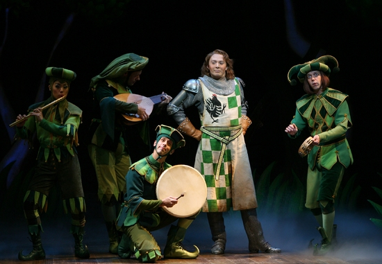 Photo Flash: Monty Python's 'Spamalot' With Aiken, Siberry and Dandridge