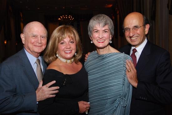 Gerald Schoenfeld, Charlotte St. Martin, Nina Lannan and Joel Klein