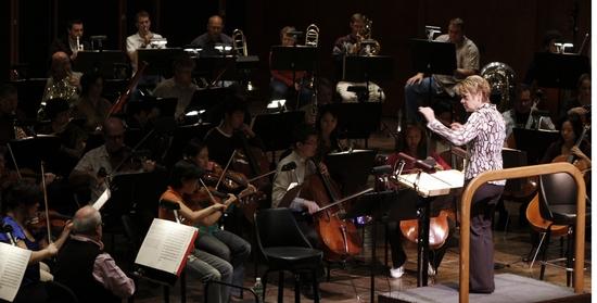 Marin Alsop and New York Philharmonic Photo