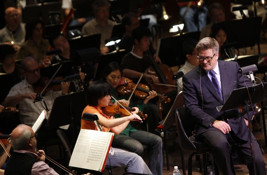 Alec Baldwin and New York Philharmonic