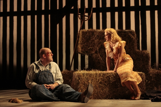 Photo Flash: 'Of Mice and Men' at Westport Country Playhouse