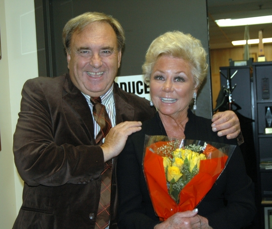 Joseph F. Panarello and Mitzi Gaynor