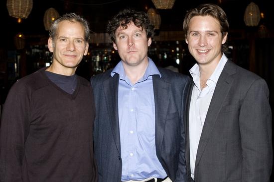 Campbell Scott, Ronan Noone and Justin Waldman   Photo