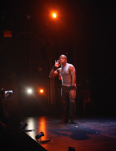 Kahlil Ashanti at BASIC TRAINING Curtain Call & Opening Night Party