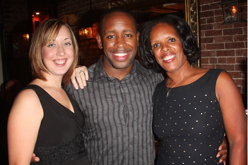 Lydia Ashanti, Kahlil Ashanti, and Pamela Williams