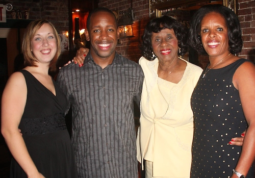 Lydia Ashanti, Kahlil Ashanti, Christine Smith, and Pamela Williams