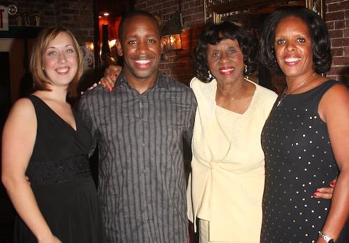 Lydia Ashanti, Kahlil Ashanti, Christine Smith, and Pamela Williams