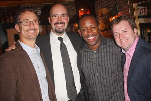 Barry Josephson, Erich Jungwirth, Kahlil Ashanti, and Richard Jordan   Photo