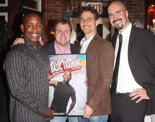Kahlil Ashanti, Richard Jordan, Barry Josephson, and Erich Jungwirth   Photo