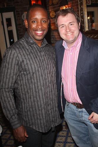 Kahlil Ashanti and Richard Jordan   Photo