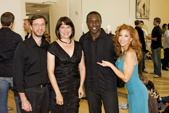 Bruce Doctor, Cathy Venable, Joshua Henry and Lorin Latarro
